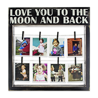 photo gifts - Box Sign Frame: To The Moon