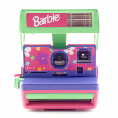 photo gifts - Polaroid 600 Barbie Camera