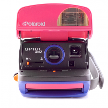 photo gifts - Polaroid 600 Spice Girls Camera