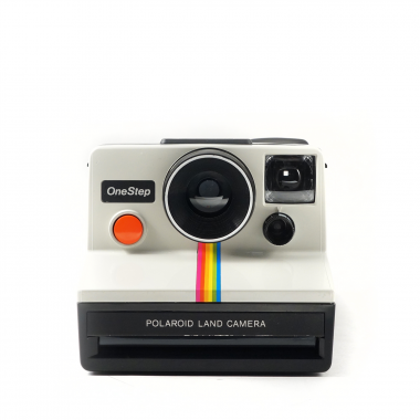 photo gifts - Polaroid SX-70 White Rainbow Camera