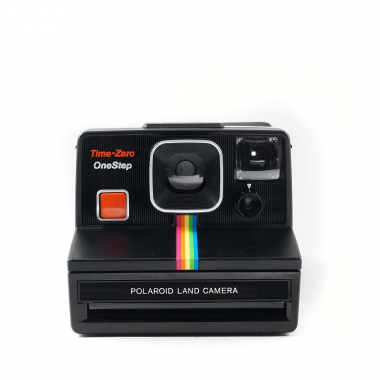 photo gifts - Polaroid SX-70 Black Rainbow Camera