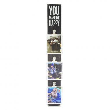 photo gifts - Photo Clip Bar: You Make Me Happy
