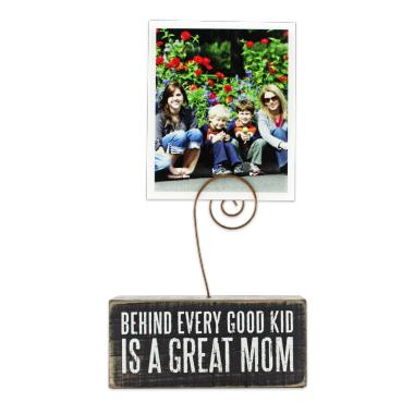 photo gifts - Photo Block: Great Mom